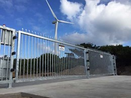 Quarry site installs 5-metre MSG swing gates for access control and more safety