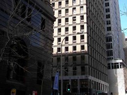 Mode roller blinds provide heat and glare control at Macquarie Bank, Sydney