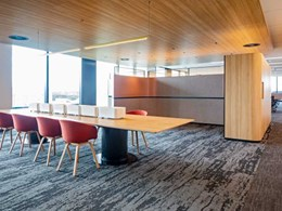 Workstations and joinery installed at new John Holland Macquarie Park building