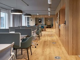 MAGNA magnetic raised access flooring for offices and retail