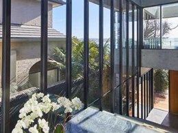 ALSPEC door and window framing opens up panoramic ocean views for Manly home