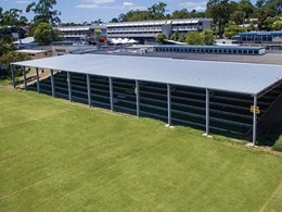 Lysaght's smart solutions help Qld school provide high quality shelter to students