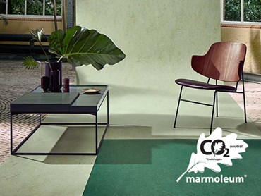 When you buy Marmoleum, you also help plant a tree