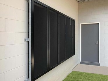 Alspec's Invisi-Maxx stainless steel security screens