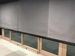FireMaster curtains provide fire separation at Monash University library buildings