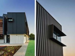 COLORBOND® steel complements latest building design trends with new Matt collection