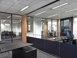Criterion glass partitions contribute to spacious vibe at Maxcap's Melbourne office
