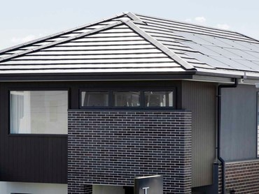 The Mayfair featuring Monier's InlineSOLAR recessed panels