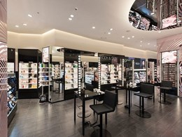 Polar downlights bring out the best in products at Mecca Maxima
