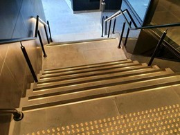 Brass stair nosing stays on-trend with Classic's new Tredfx range