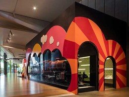 Corian meets functional and aesthetic brief at Melbourne Museum's Children's Gallery