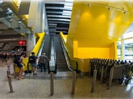 Nullifire intumescent coating protects structural steel at Melbourne Airport Terminal 4