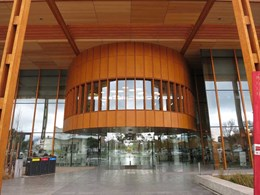 Prodema facade panels meet sustainable design goals at Melton Library