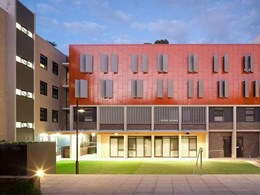 Cladding and decking supplied for Macquarie University student residency