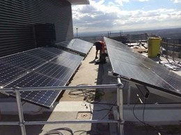 Australia Wide Solar installs 60-storey high solar array in Chatswood NSW