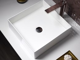 Kohler's new Mica basins in slim-walled modernist design