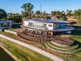 Rustic Barestone cladding meets design brief for iconic Mildura Rowing Club upgrade