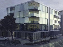 Wood Marsh uses EDGE structural glazed suite for full-glass appearance at Mint Apartments