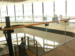 Glass balustrades for Mirvac's Sydney head office meet standard and timeline