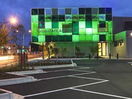 Perspex acrylic creates visually striking effect at GippsTAFE Academy campus