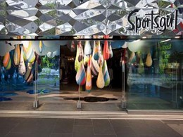 EuroMir acrylic mirror achieves attractive visual identity for Melbourne sports shop