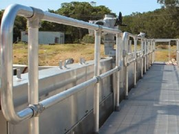 Designing industrial handrails to Australian Standards