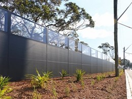 EnduroMax provides noise barrier solution for Captain Cook Drive