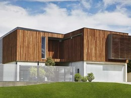 Woodform Architectural's new cladding system featuring profiles that enhance timber's rustic charm