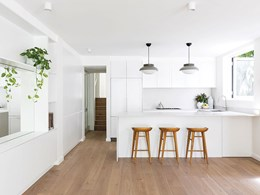 Havwoods flooring supports design scheme in Mosman period home renovation