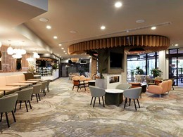 Custom carpet brightens up Mulgrave Country Club bistro