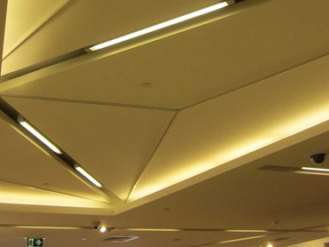 Myer Melbourne internal ceiling framework