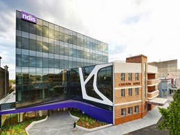 Dynamic glass façade makes $60m NDIS HQ in Geelong greener