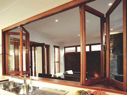 Brio's Weatherfold window hardware systems for servery applications