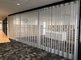 ATDC's aluminium folding doors for office fitouts