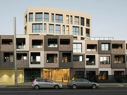 BrickCOMB panels resolve facade challenges on Richmond VIC apartments