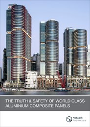 The truth and safety of world-class aluminium composite panels