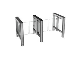 Bestselling entrance control gates launched with new sleek and slim design