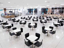 Ardex specified for natural stone installation at Newcastle Airport expansion project