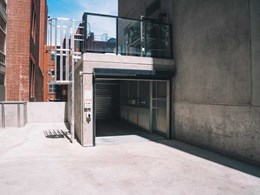 Totalmove car lift at central Melbourne Novotel providing efficient parking solution