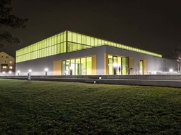 OKALUX K insulating glass adds striking look to Neumatt Sports Hall, Switzerland