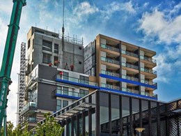 Big River's structural plywood saves time and cost at Moonee Ponds apartment project