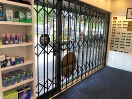ATDC's attractive heavy duty screens and shutters secure OPSM in Bowral