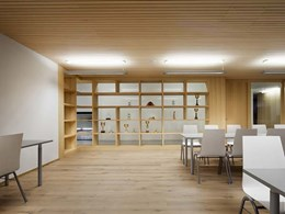 Neumarkt fire station chooses Mafi timber floorboards