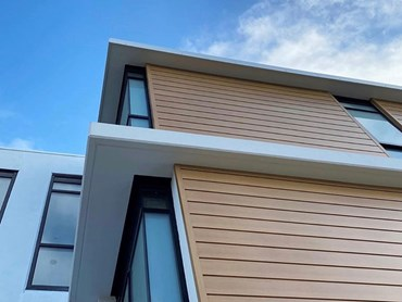 HVG facades Zintl cladding featured in Ocean Grove apartments