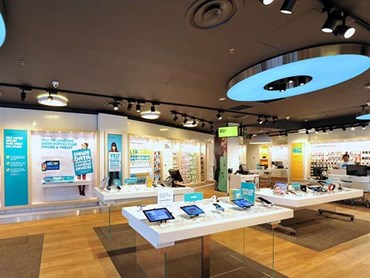 Optus Bourke St Melbourne LED Retail Lighting Fit Out
