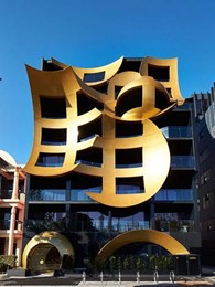 Traditional building facade turns funky with ShapeShell FR at Orbis