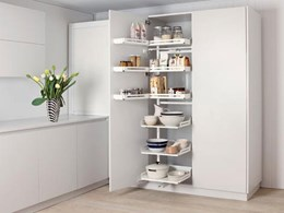 Introducing Peka Pleno Plus larder units for efficient kitchen food storage
