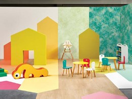 Tarkett's new vinyl flooring and wall coverings enhancing wellbeing