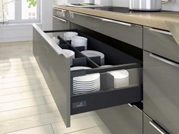 InnoTech Atira drawer system from Hettich offering versatile interior organisation