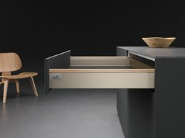 Hettich's distinctive designer profiles for ArciTech and InnoTech Atira drawers